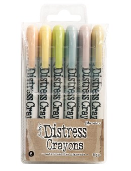 Distress Crayon Set - set #8