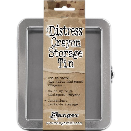 Tim Holtz - Distress Crayon - Storage Tin Empty