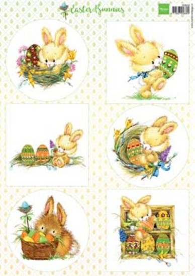 Marianne Design - Knipvel Easter Bunnies