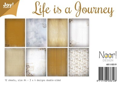 Noor! Design - Paperpad A4 - Life is a Journey