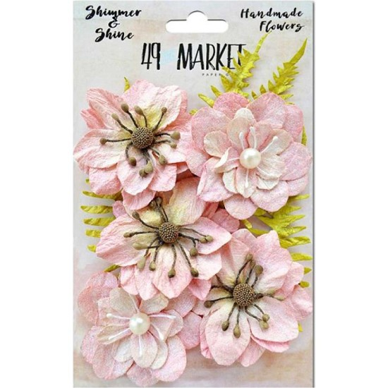 Handmade flowers 49 Market - Shimmer & Shine - Blush Jarden Secret