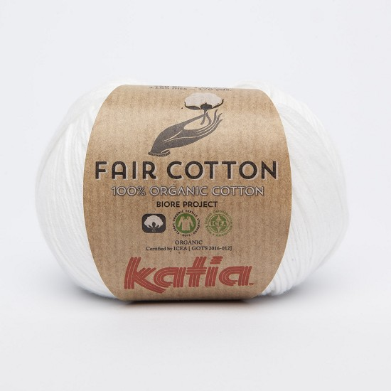 Breiwol Katia - Fair Cotton - Kleur 1