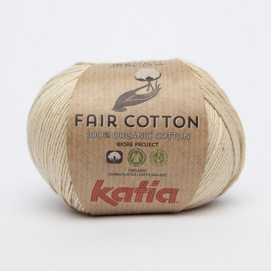 Breiwol Katia - Fair Cotton - Kleur 10