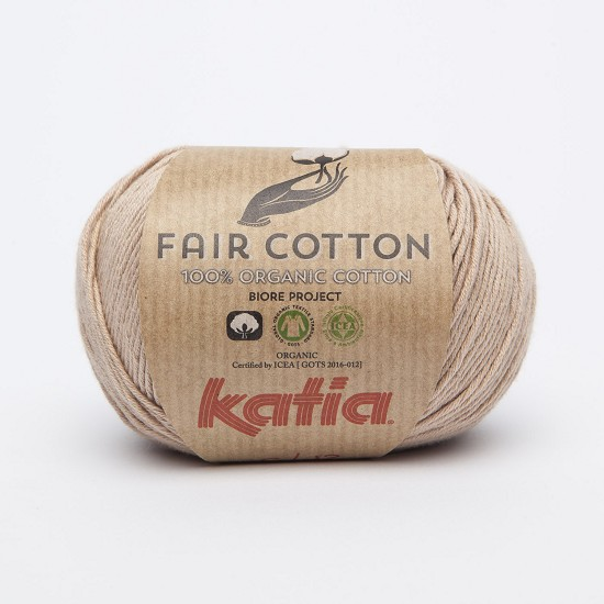 Breiwol Katia - Fair Cotton - Kleur 12