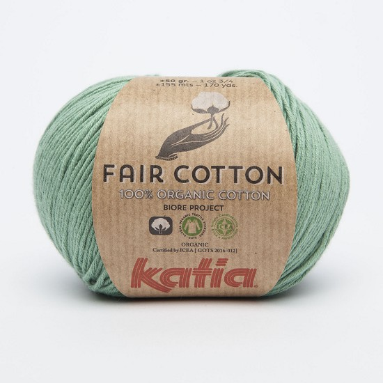Breiwol Katia - Fair Cotton - Kleur 17