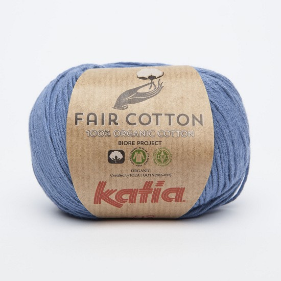 Breiwol Katia - Fair Cotton - Kleur 18