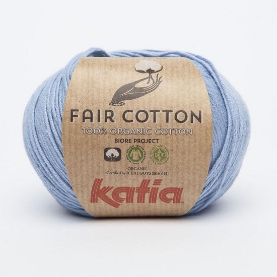 Breiwol Katia - Fair Cotton - Kleur 19