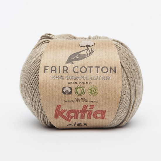Breiwol Katia - Fair Cotton - Kleur 23