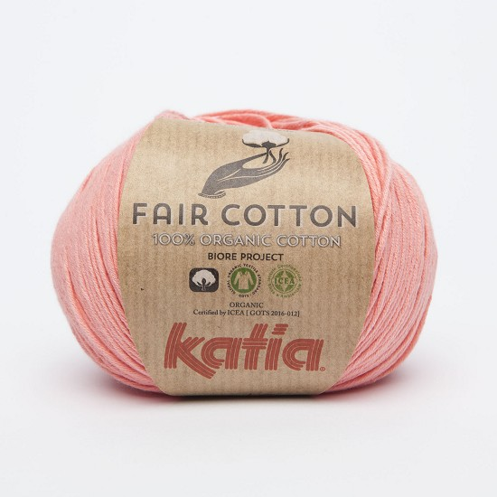 Breiwol Katia - Fair Cotton - Kleur 6