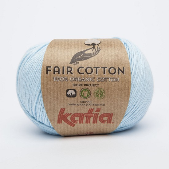 Breiwol Katia - Fair Cotton - Kleur 8