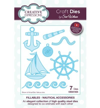 Stansmal Creative Expressions - The Fillables Collection - Nautical Accessoires