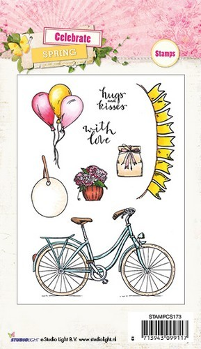 Studio Light - Celebrate Spring - Clearstamp STAMPCS173
