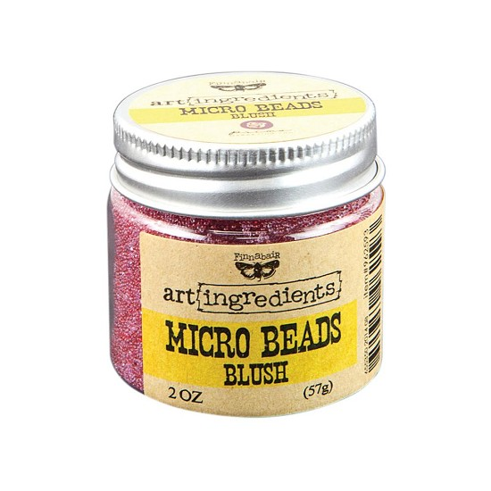 Finnabair - Art Ingredients - Micro Beads 2oz - Blush