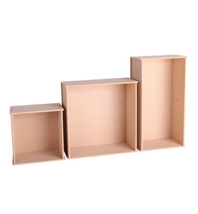 Pronty - MDF Wall Decoration Boxes 3 sizes