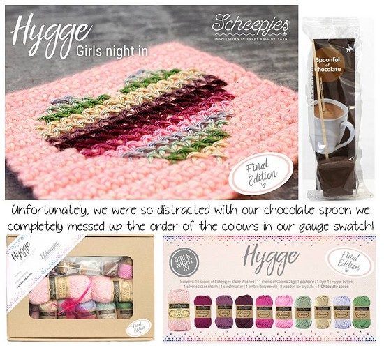 Scheepjes CAL2017 - Hygge - Pakket Final Edition Girls Night In