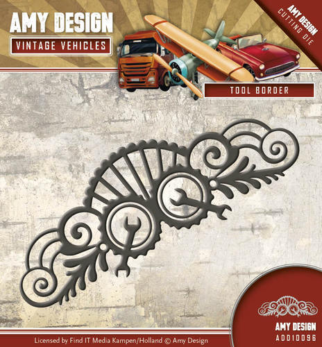 Stansmal Amy Design - Vintage Vehicles - Tool Border