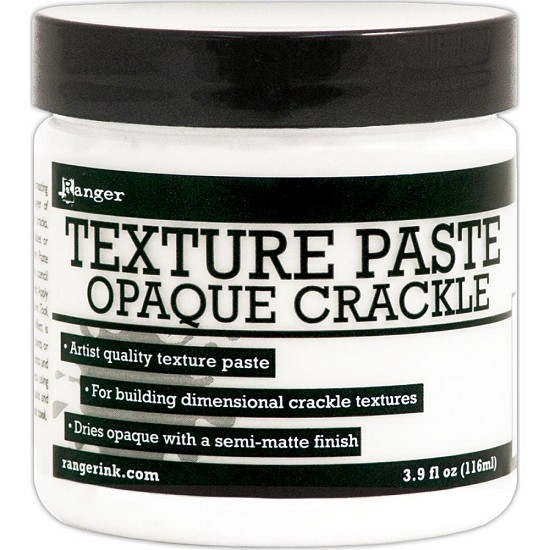 Ranger - Crackle Texture Paste 4oz - Opaque