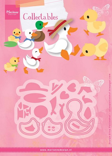Marianne Design - Collectable - Eline`s Duck Family