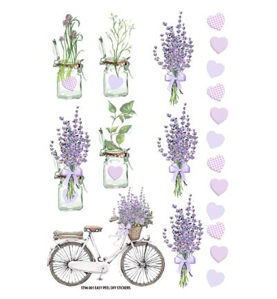 FabScraps - Lavender - Stickers Lifestyle