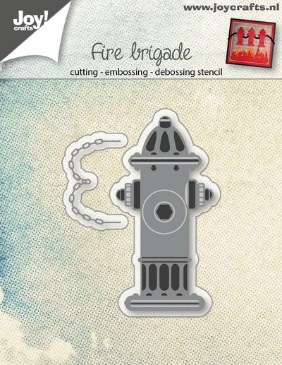 Joy! Crafts - Cutting & Embossing stencil - Waterput brandweer