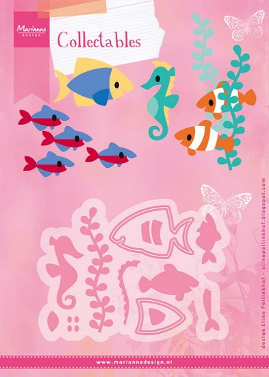 Marianne Design - Collectable - Eline`s Tropical Fish