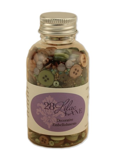 Bottle Kit - 28 Lilac Lane Decorative Elements - Through the Woods