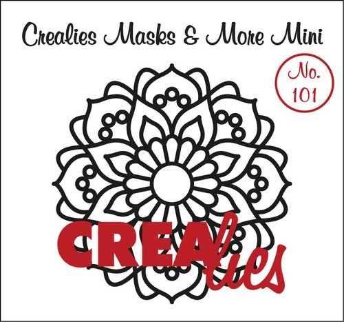Crealies - Mask & More Mini - Mandala 101