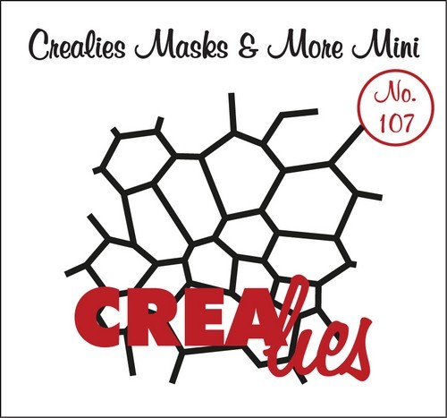 Crealies - Mask & More Mini - Mozaiek 107