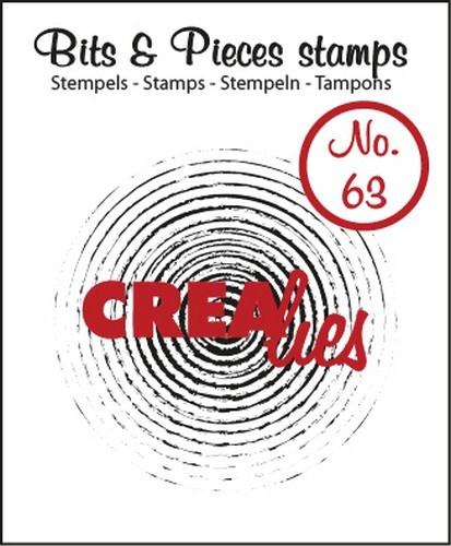 Clearstamp - Crealies - Bits & Pieces - nr 63