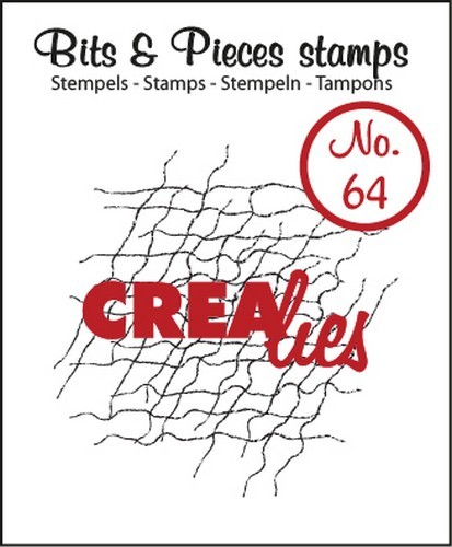 Clearstamp - Crealies - Bits & Pieces - nr 64
