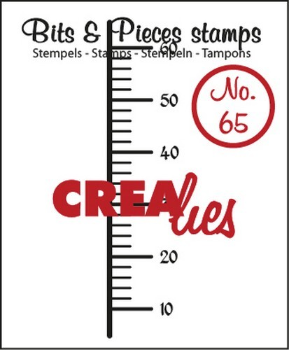 Clearstamp - Crealies - Bits & Pieces - nr 65