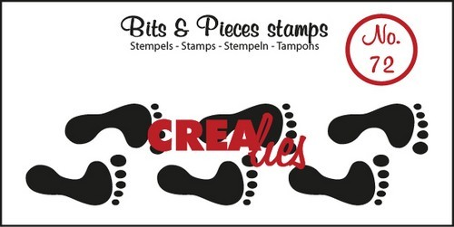 Clearstamp - Crealies - Bits & Pieces - nr 72