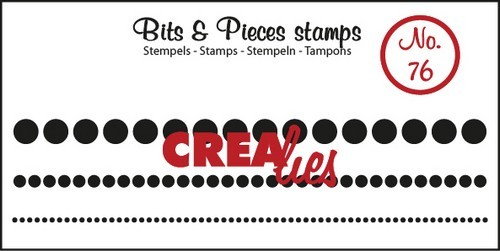 Clearstamp - Crealies - Bits & Pieces - nr 76
