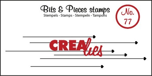 Clearstamp - Crealies - Bits & Pieces - nr 77