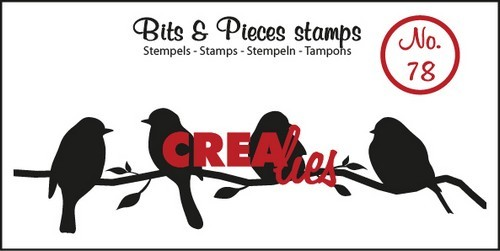 Clearstamp - Crealies - Bits & Pieces - nr 78