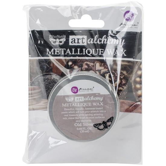 AAMW-64023 Finnabair Art Alchemy Metallique Wax .68 Fluid Ounce-Bronze Age