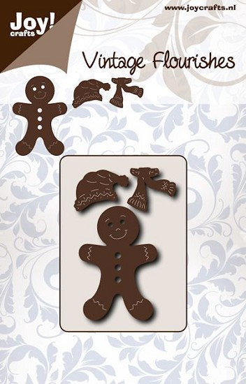Noor! Design - Vintage Flourishes - Gingerbread