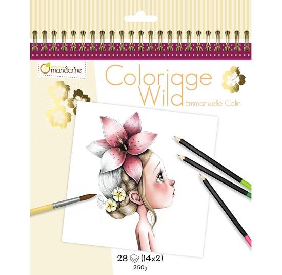Kleurboek - Coloriage Wild door Emmanuelle Colin - Deel 1