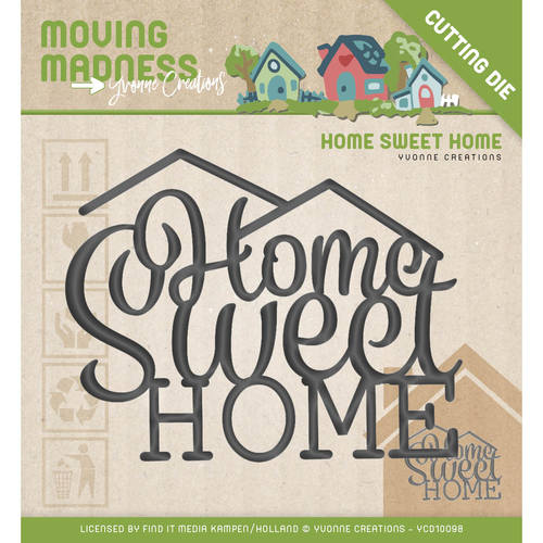 Stansmal - Yvonne Creations - Moving Madness - Home Sweet Home