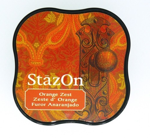 Stempelinkt - StazOn Midi - Orange Zest