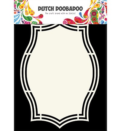 Dutch Doobadoo - Dutch Shape Art - Label 5
