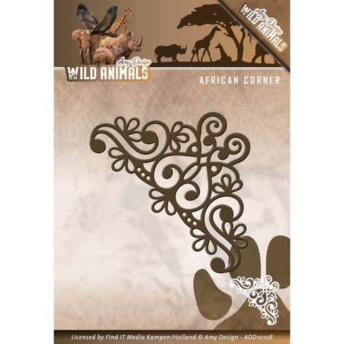 Stansmal Amy Design - Wild Animals - African Corner