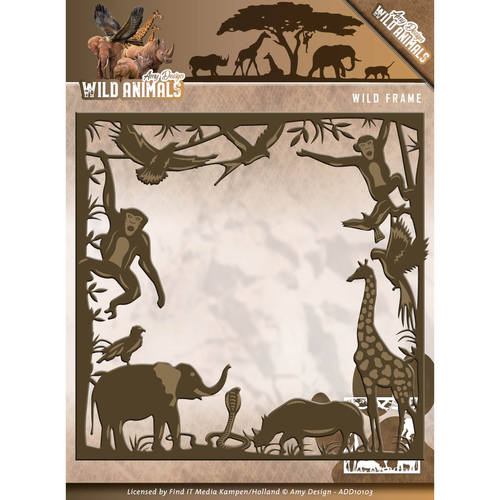 Stansmal Amy Design - Wild Animals - Wild frame
