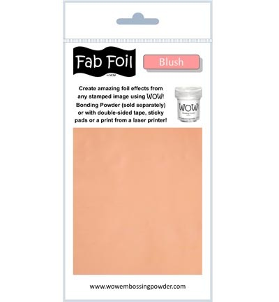 WOW Fabulous Foil - Blush