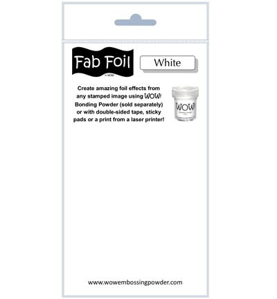 WOW Fabulous Foil - Snowy White