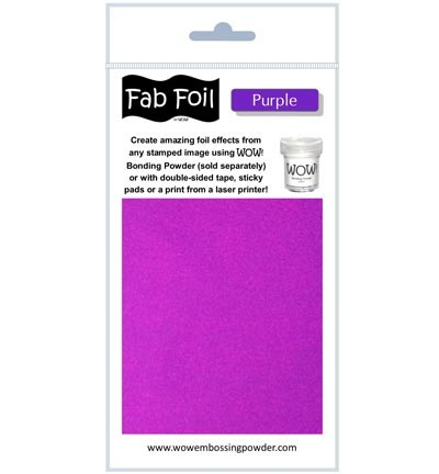 WOW Fabulous Foil - Purple