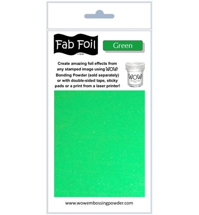 WOW Fabulous Foil - Green