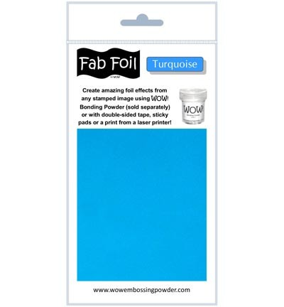 WOW Fabulous Foil - Turquoise