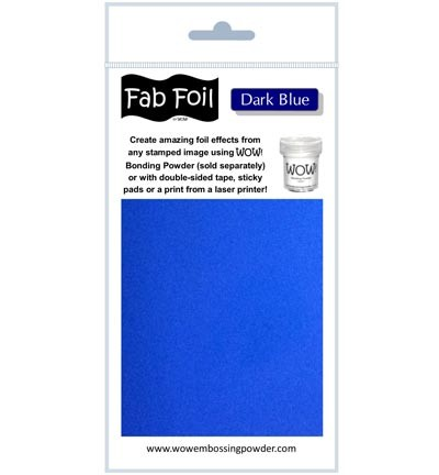 WOW Fabulous Foil - Dark Blue