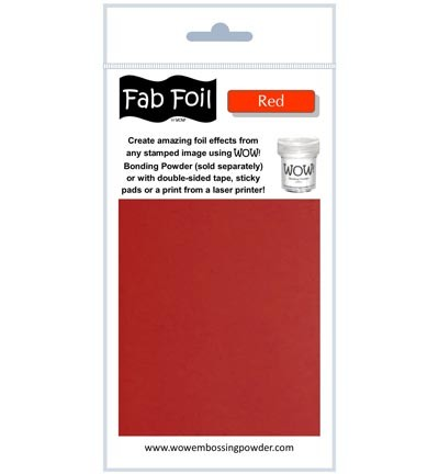 WOW Fabulous Foil - Red